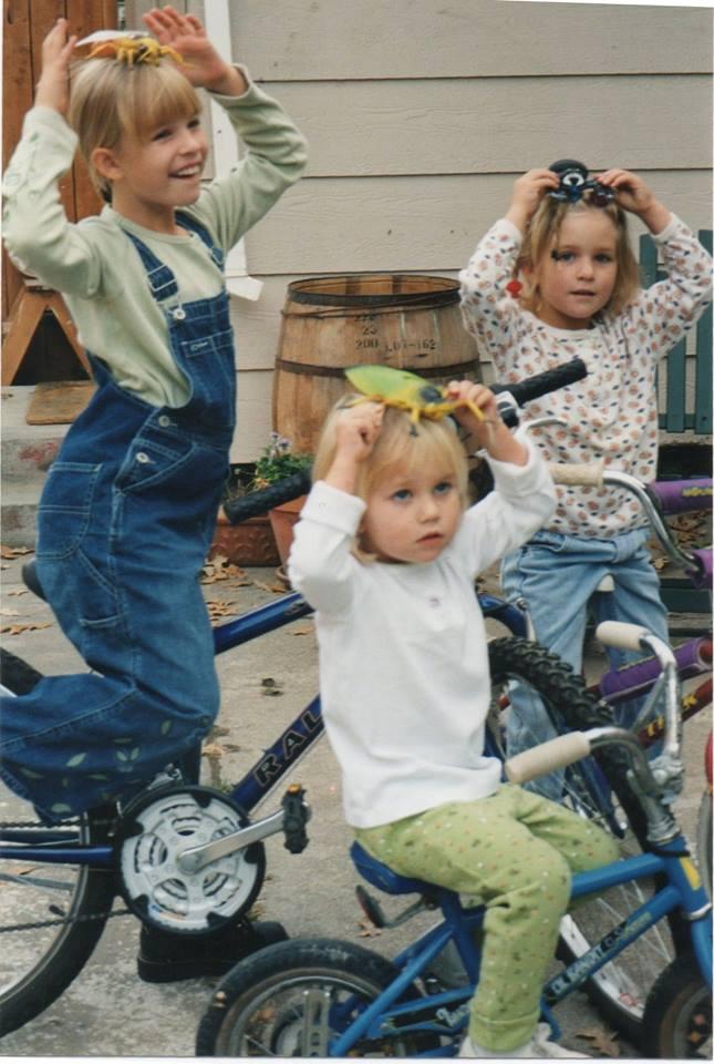 three crazy girls