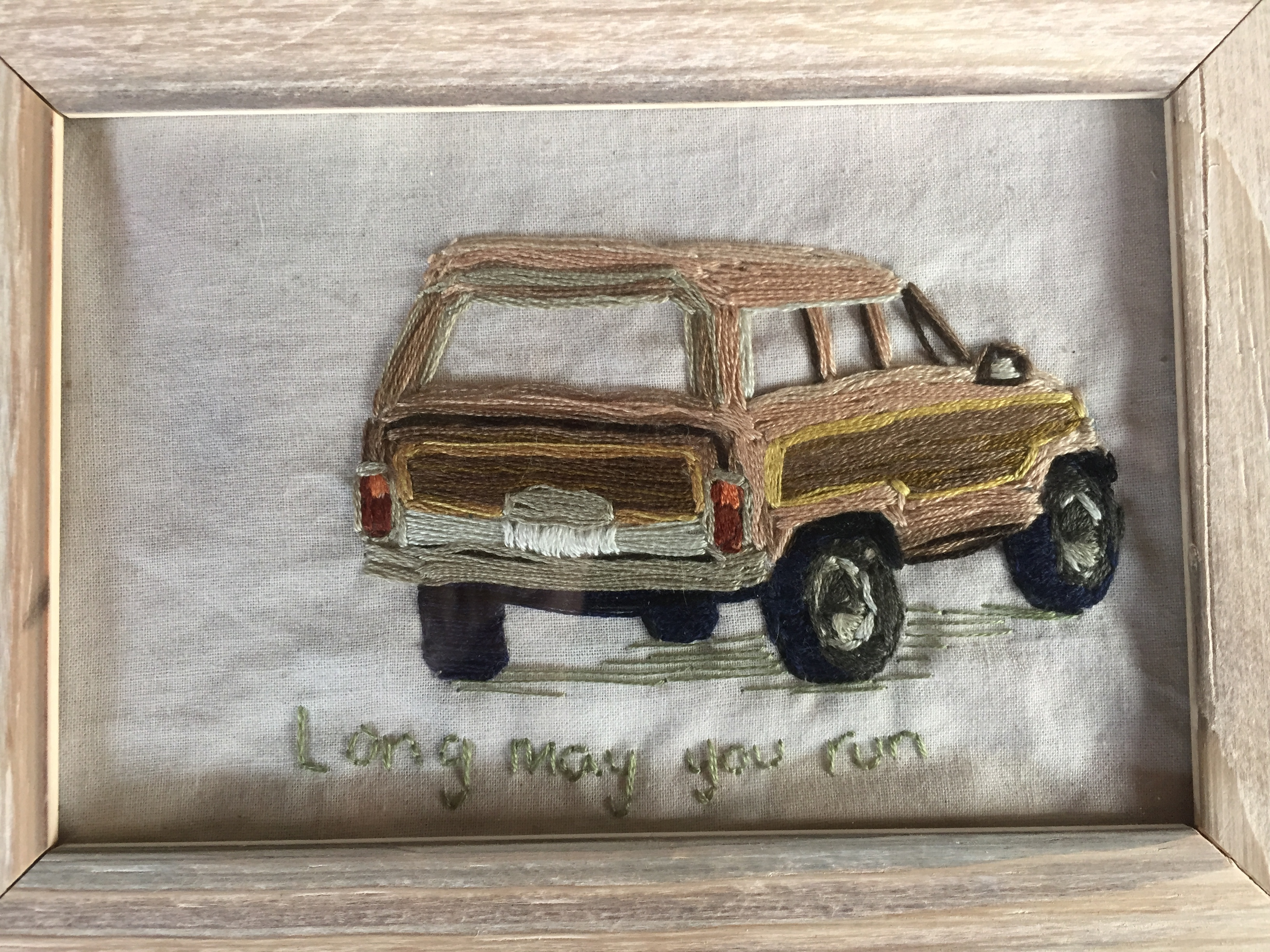 Woody needle Point